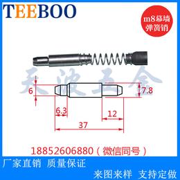 304不锈钢 M8幕墙弹簧插销 幕墙不锈钢销钉