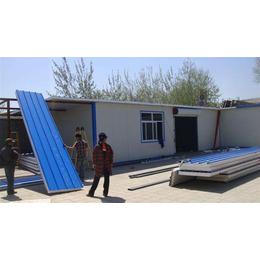 武清区搭建彩钢房活动房 天津专业制作钢结构厂房