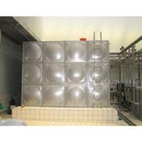 不锈钢水箱上面的污渍如何快速处理?