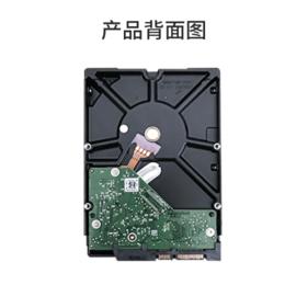 海康威视硬盘西部数据+监控硬盘+紫盘4TB+录像专用监控硬盘