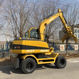 轮式抓钢机 轮式挖掘机 小型轮式挖掘机价格