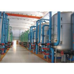 华浦水处理万博manbetx官网登录中的机械过滤装置+西北水处理生产创新基地