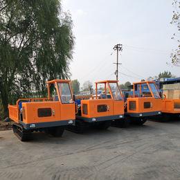 水渠工程橡胶履带运输车多少钱 都说在济宁格林伟瑞买