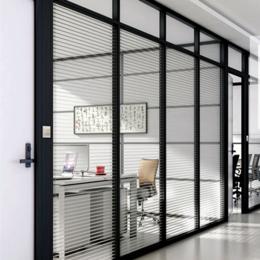 办公室玻璃隔断墙高隔断墙钢化玻璃