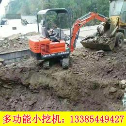 浩鸿履带式小型挖掘机农用小型挖掘机果园微型挖坑挖掘机