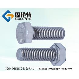 不锈钢螺栓厂家固伦特生产国标石化专用外六角螺栓