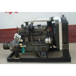 潍坊4105固定动力柴油机配套饲料机使用