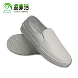 凌亦浩深圳宝安防静电鞋pvc中巾鞋厂家直销防尘洁净工作鞋