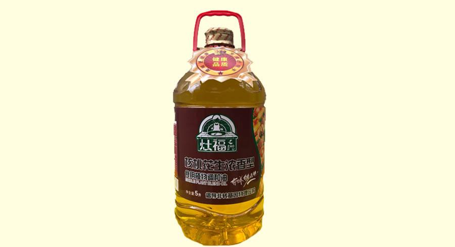 灶福-核桃花生浓香型食用植物调和油