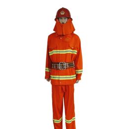 供应97款阻燃防护服北京消防战斗服桔红色消防阻燃消防员防护服