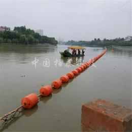 余姚水源地拦船浮球 河道拦船浮标 警示浮筒