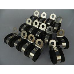包胶U型管卡固定电缆用