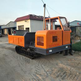 履带式坡地运输车 农林果园运输履带车 烂泥地履带翻斗车