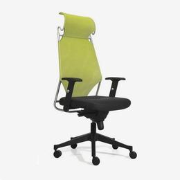 2018新款滚轮绿色靠背办公室办公椅