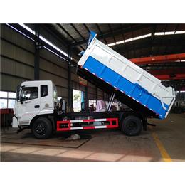 定制厢体带加热功能的10吨15吨污泥运输车
