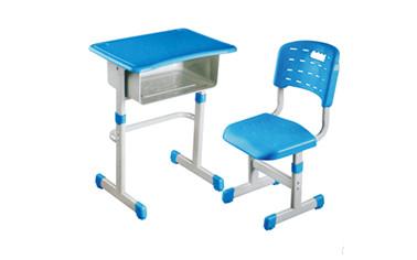 套管式升降塑料课桌椅