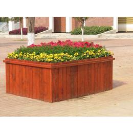 室外防腐木花箱道路景观花盆缩略图