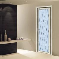 钛镁合金平开门,厨房卫生间的必须品,小地方也要有效果