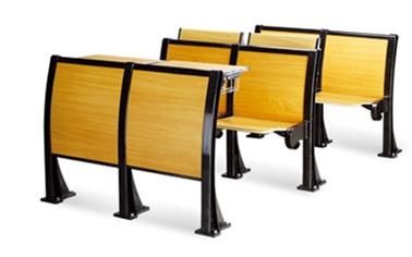 铝合金脚教学排椅(板式)