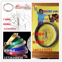 流体不锈钢编制手环--彩色电镀新型魔术手环---现货批发