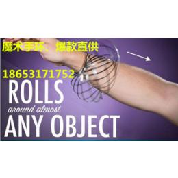 镀彩锌魔术手环--陀螺手环不锈钢手环flowrings批发商