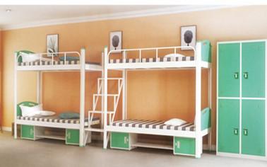 雙聯四人位中梯雙人床