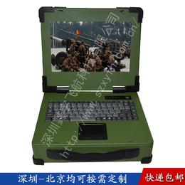 12寸工业便携机机箱便携式工控一体军工电脑加固笔记本机箱采集