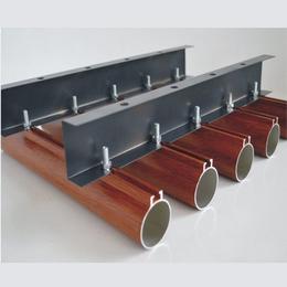 热销木纹铝圆管天花 圆管方通吊顶 O型天花