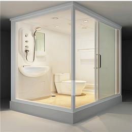 一体式隔断淋浴房 钢化玻璃洗浴房缩略图