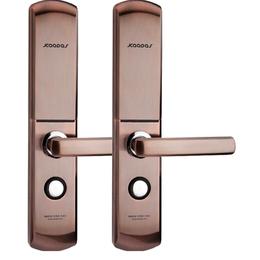凯迪仕智能锁6113电子门锁防盗门指纹密码锁缩略图