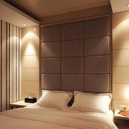 方形软包背景墙 客厅沙发卧室电视床头欧式简约硬包装饰背景缩略图