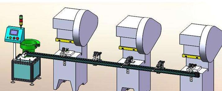 沖床送料機生產線配置應該是如何的?