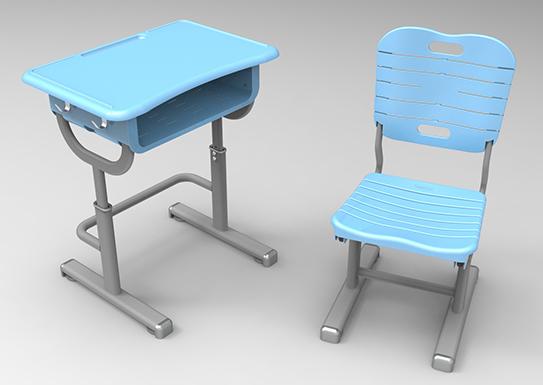 塑鋼學生課桌椅的好處