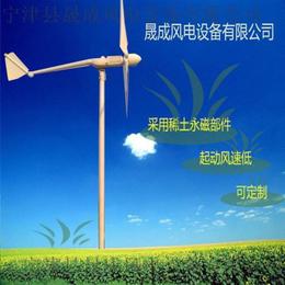 购买晟成永磁风力发电机1000瓦风力发电机自动迎风厂家包邮