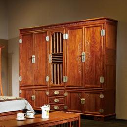 现代室内木质衣柜定制