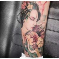 慎重选择自己一生的艺术纹身不后悔