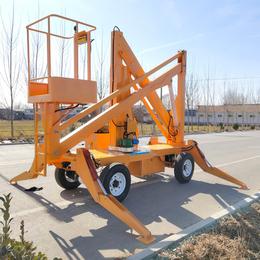 曲臂升降机 高空作业平台 甘肃多角度高空维修升降车报价