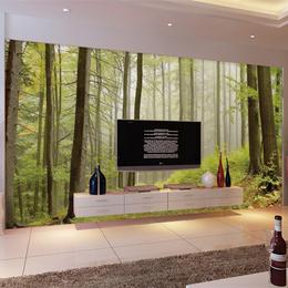 软包背景墙新中式欧式酒店客厅卧室床头花鸟壁画图案硬包电视墙