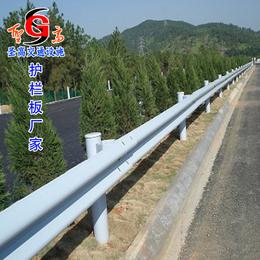 广汉护栏板生产厂家喷塑双波护栏板立柱安装方法