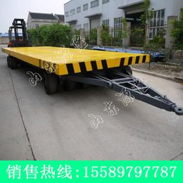 源隆定做各种25吨平板拖车 厂区25吨板车 叉车牵引平板车