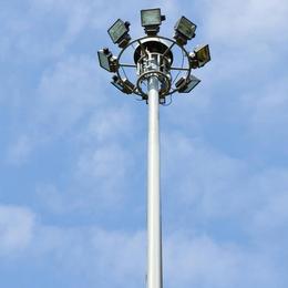 定制15-25米升降式高杆灯  热镀锌喷塑灯杆 坚固耐用
