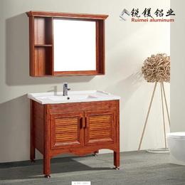 厨房定做铝合金门板橱柜门木纹热转印衣柜厨柜门厂家直销