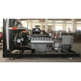 内蒙古400KW千瓦集装箱式天然气发电机组 燃气机组厂家直供
