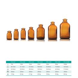 西林瓶 模制瓶 药用玻璃瓶 泰信牌
