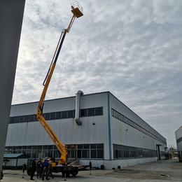 14米曲臂升降機 隨州市室外維修升降作業平臺報價 升降車供應