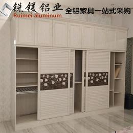 全铝家具橱柜柜体铝材 厨房柜门板定制 全铝橱柜型材现货批发