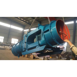 矿用湿式除尘风机厂家-kcs-120d除尘风机安装图