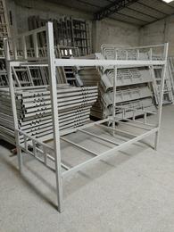 厂家大量批发学生上下铺铁床 宿舍上下铺铁床学生宿舍铁架床价格