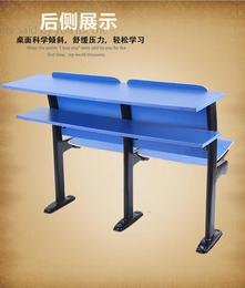厂家供应自动翻板课桌椅