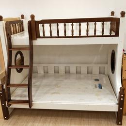 实木家具 松木上下铺儿童床 环保母子床 双层多功能高低床定制